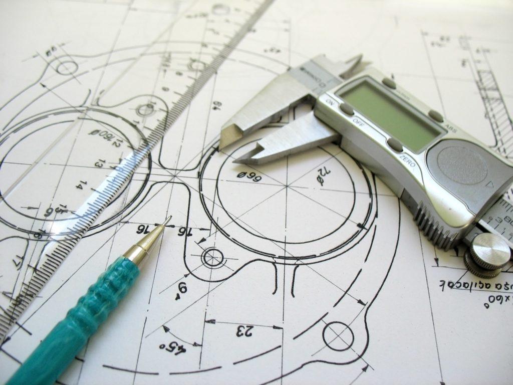 Engineering CAD drawing contact