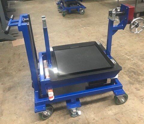 Work Holding Cart